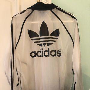 161c3d8c54e5 adidas Jackets   Coats - Adidas x Rita Ora Transparent Windbreaker Bomber